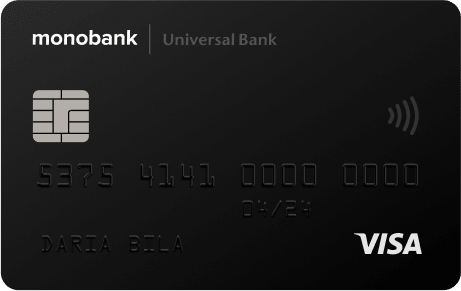 monobank slide card